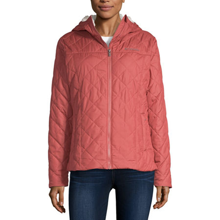 Columbia Copper Crest Midweight Quilted Jacket, Small , Pink