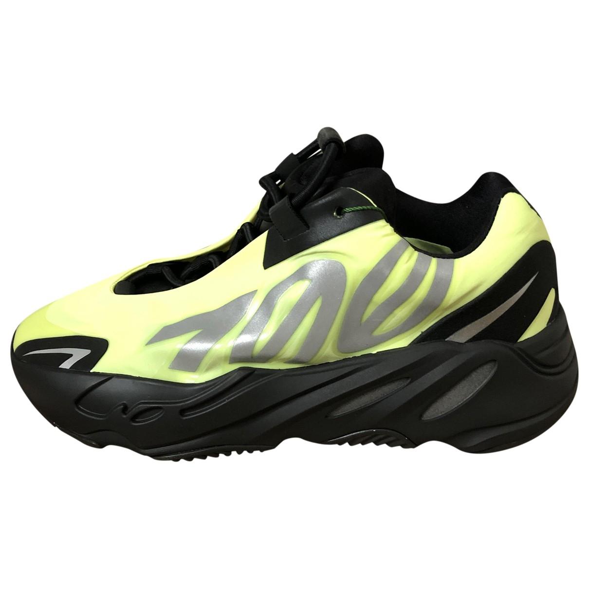 Yeezy X Adidas 700 MNVN PHOSPHOR Black Trainers for Women 6 US