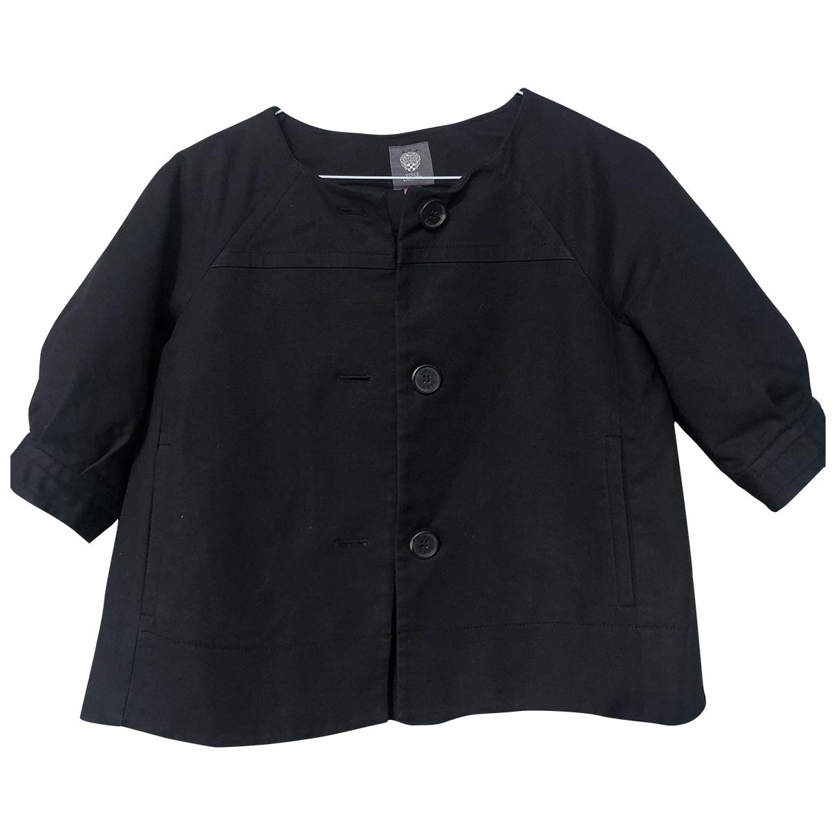 Vince Camuto \N Black Cotton jacket for Women S International