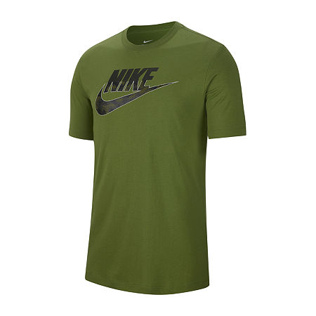Nike-Big and Tall Mens Crew Neck Short Sleeve T-Shirt, 2x-large Tall , Green