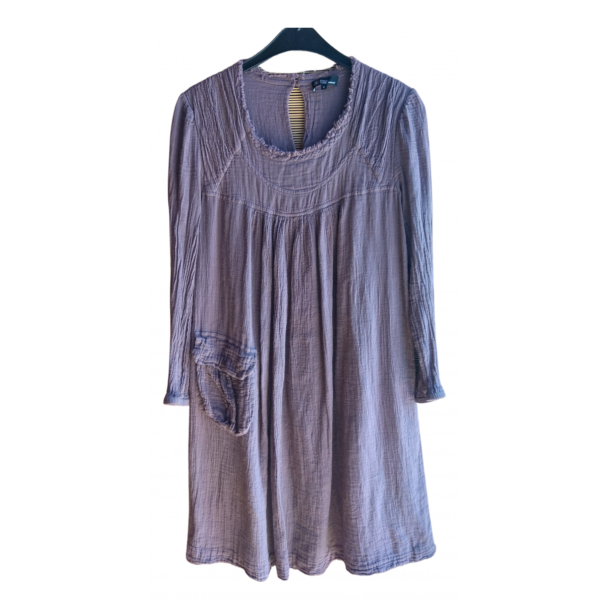 Isabel Marant Etoile \N Purple Cotton dress for Women 2 0-5