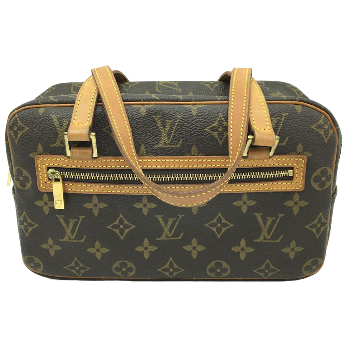 Louis Vuitton Cite  Brown Cloth handbag for Women \N