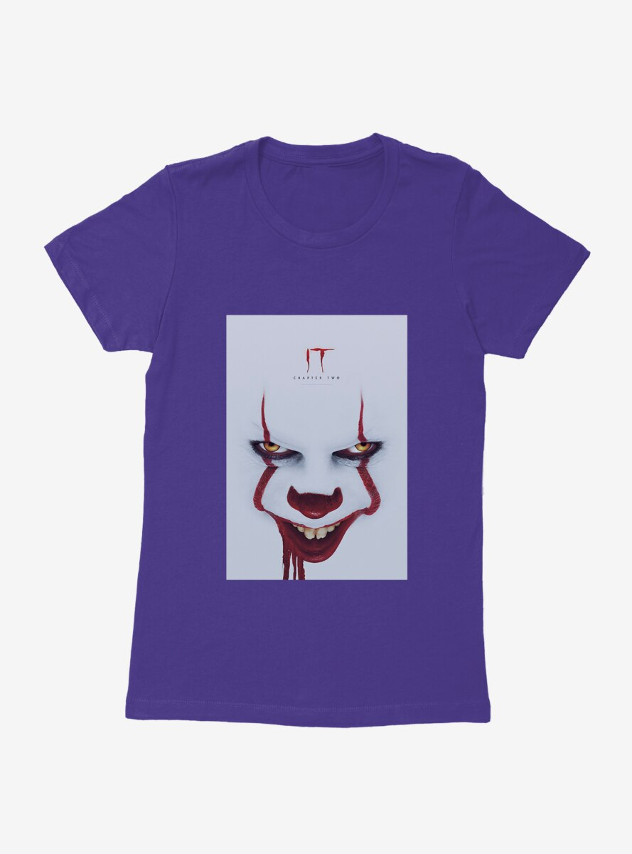 IT Chapter Two Pennywise Grin Poster Womens T-Shirt