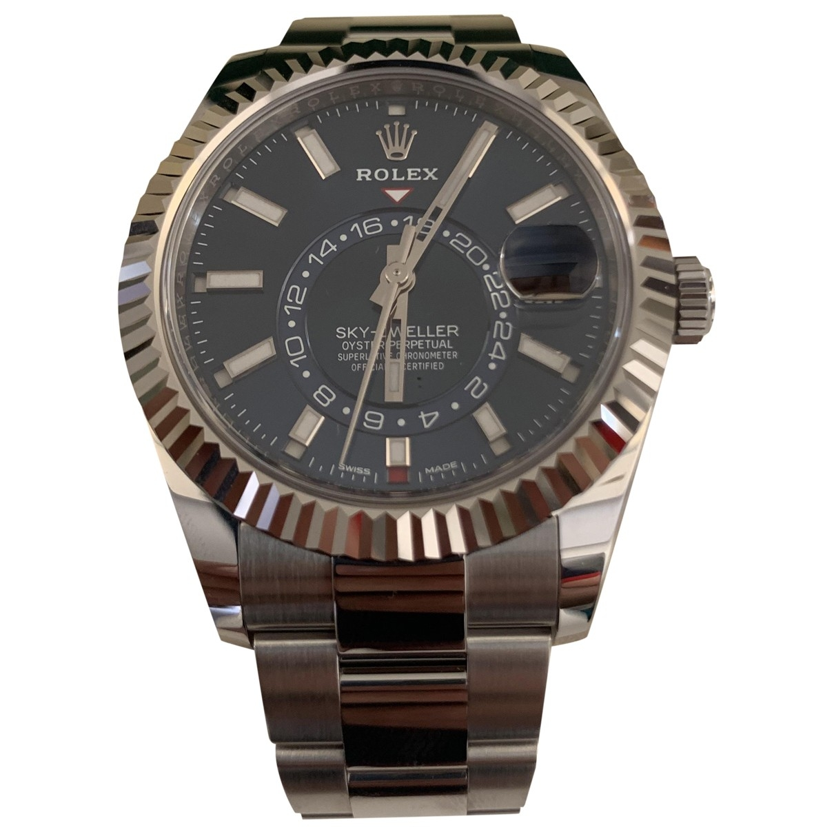 Rolex Sky-Dweller Blue Steel watch for Men \N