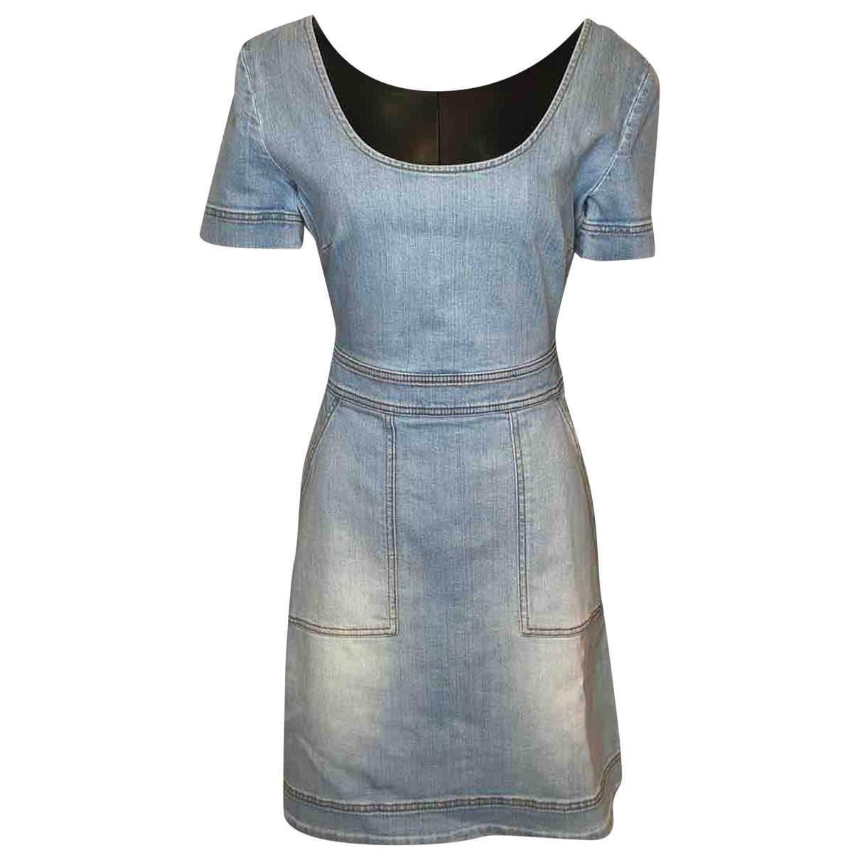 Stella Mccartney \N Blue Denim - Jeans dress for Women 42 IT