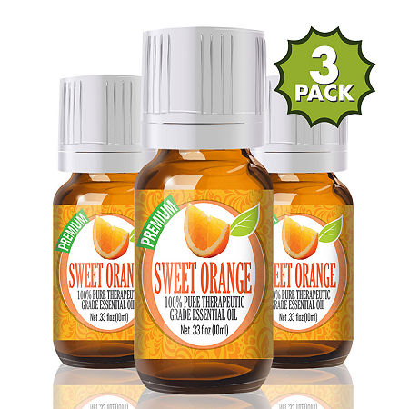 Healing Solutions Orange Essential Oil, One Size , Multiple Colors
