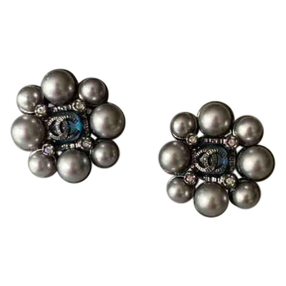 Chanel \N Blue Pearls Earrings for Women \N