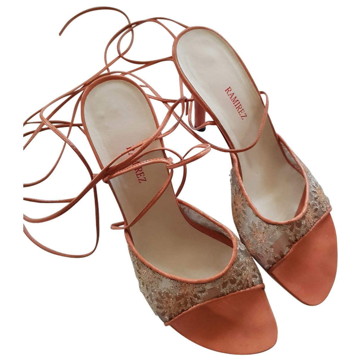 Non Signé / Unsigned \N Multicolour Leather Sandals for Women 37 EU