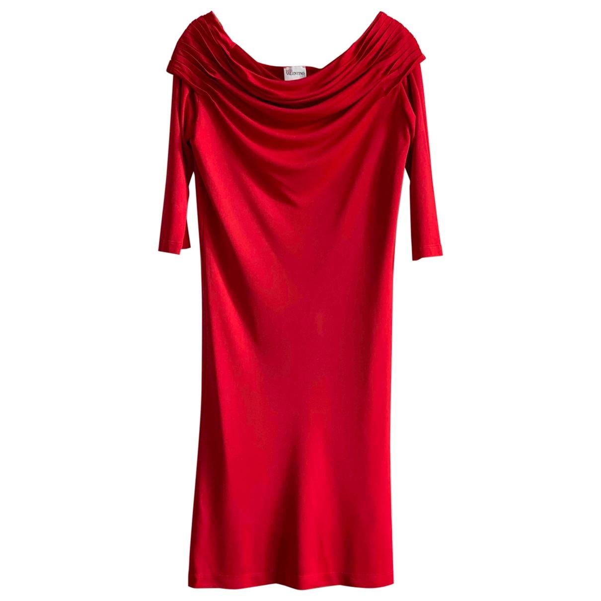 Red Valentino Garavani \N Red dress for Women 38 IT