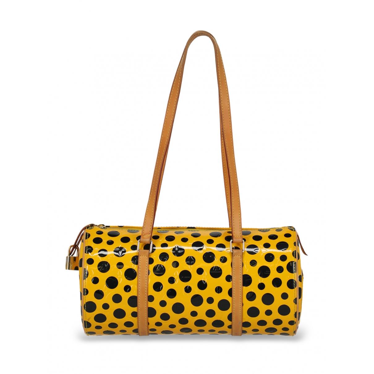 Louis Vuitton Bedford Yellow Patent leather handbag for Women \N