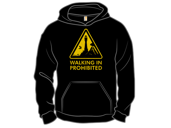 Walking In Prohibited T Shirt