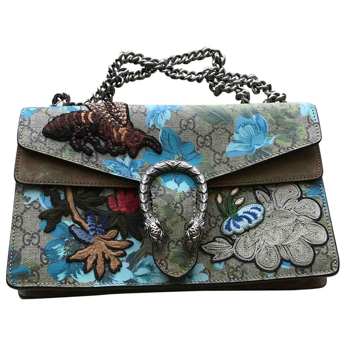 Gucci Dionysus Grey Cloth handbag for Women \N