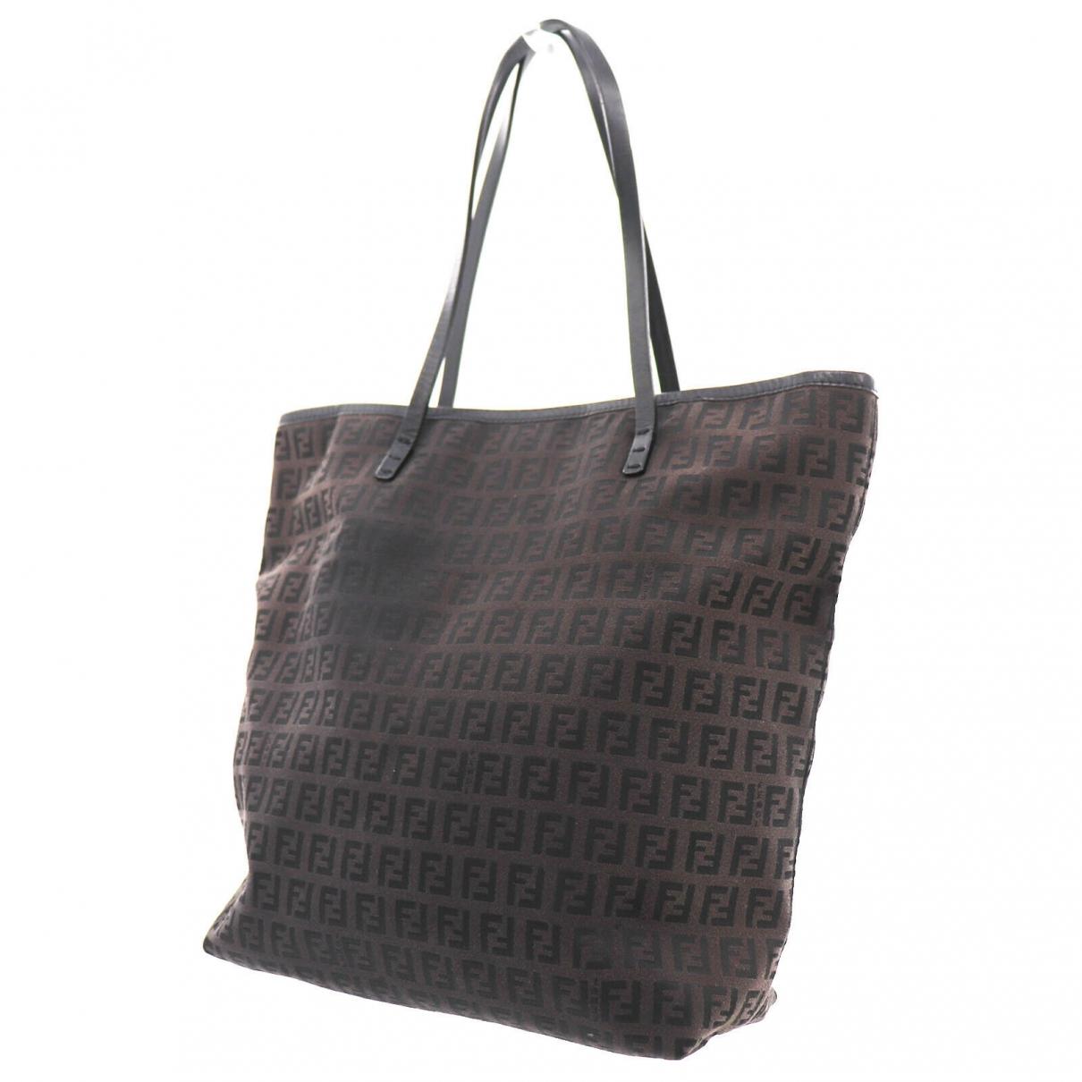 Fendi \N Brown Leather handbag for Women \N