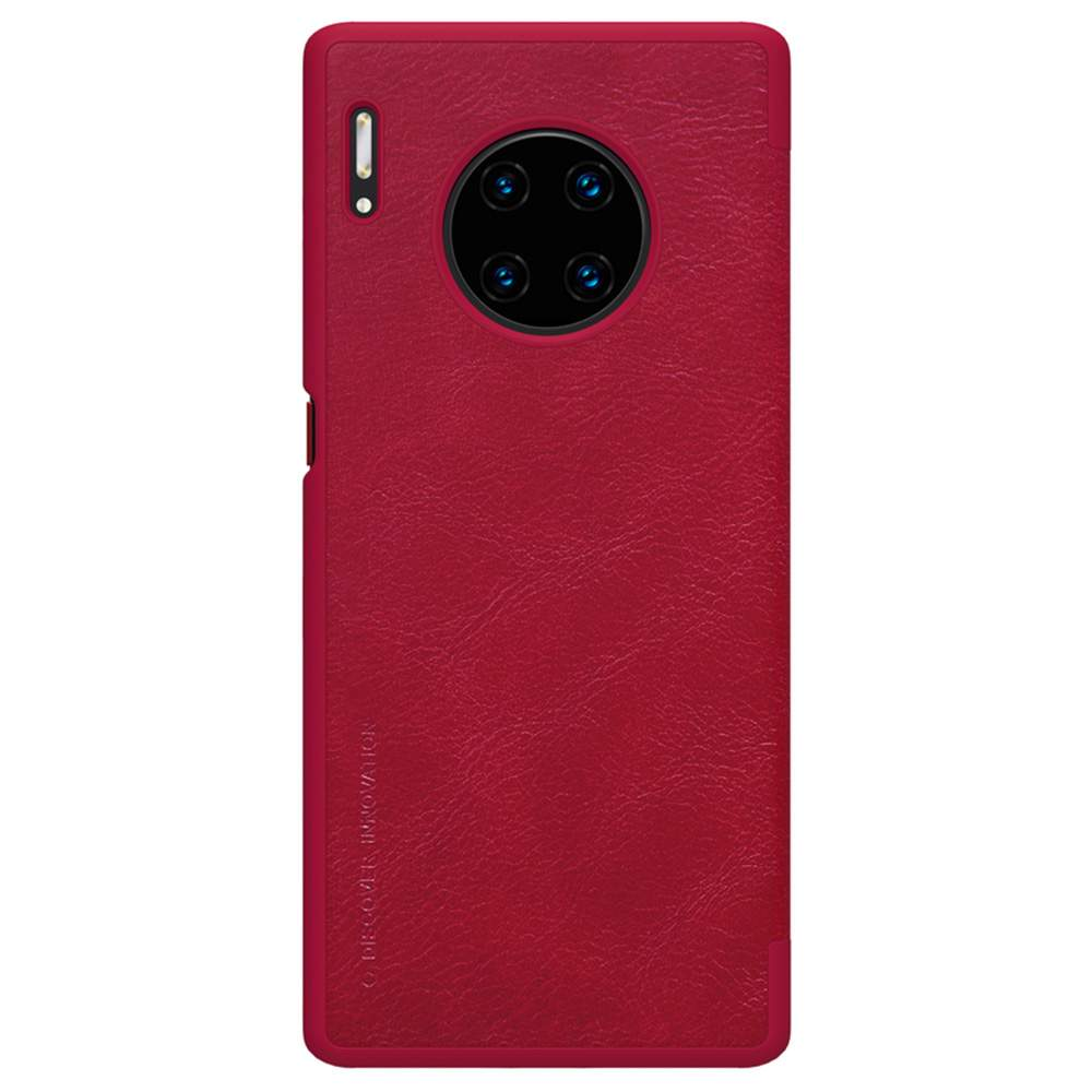 NILLKIN Protective Leather Phone Case For HUAWEI Mate 30 Pro Smartphone - Red