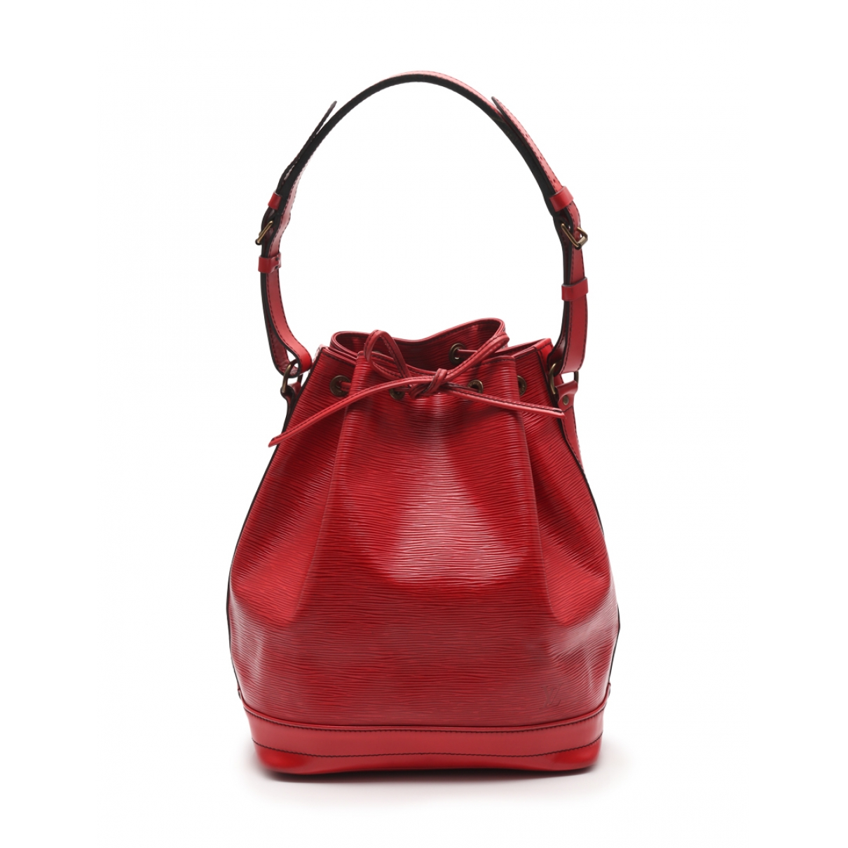 Louis Vuitton No?? Red Leather handbag for Women \N