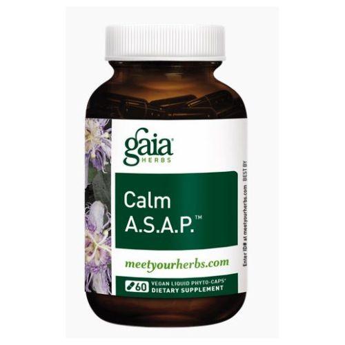 Calm A.S.A.P. 60 Caps by Gaia Herbs