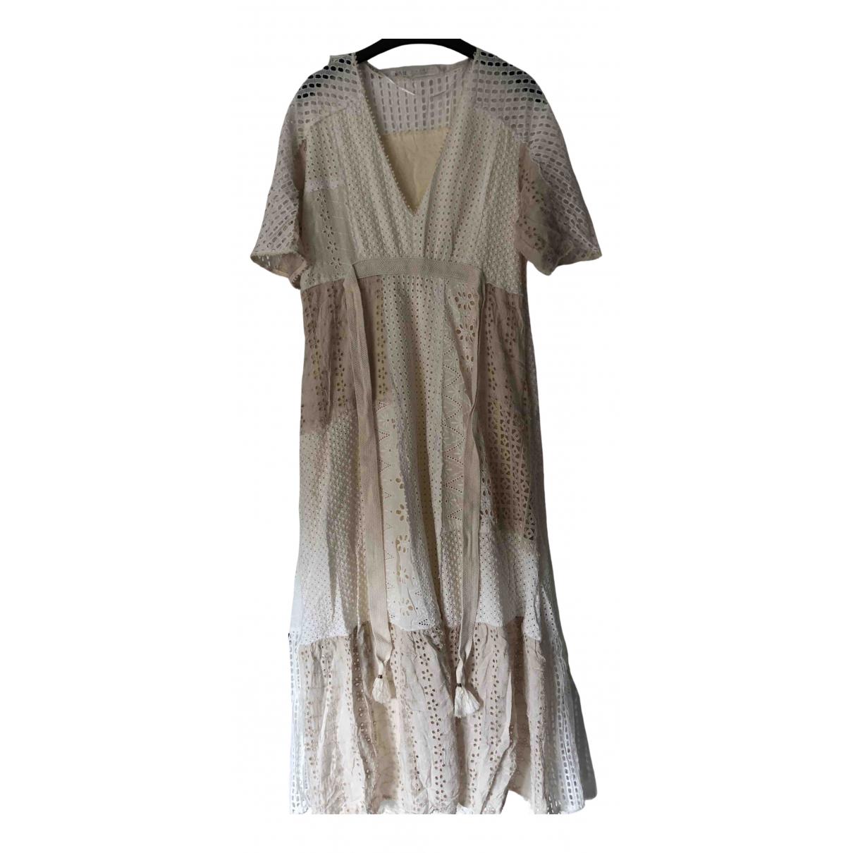 Zara \N Beige Cotton dress for Women M International