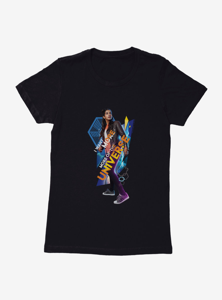 Doctor Who Thirteenth Doctor More Of The Universe Womens T-Shirt