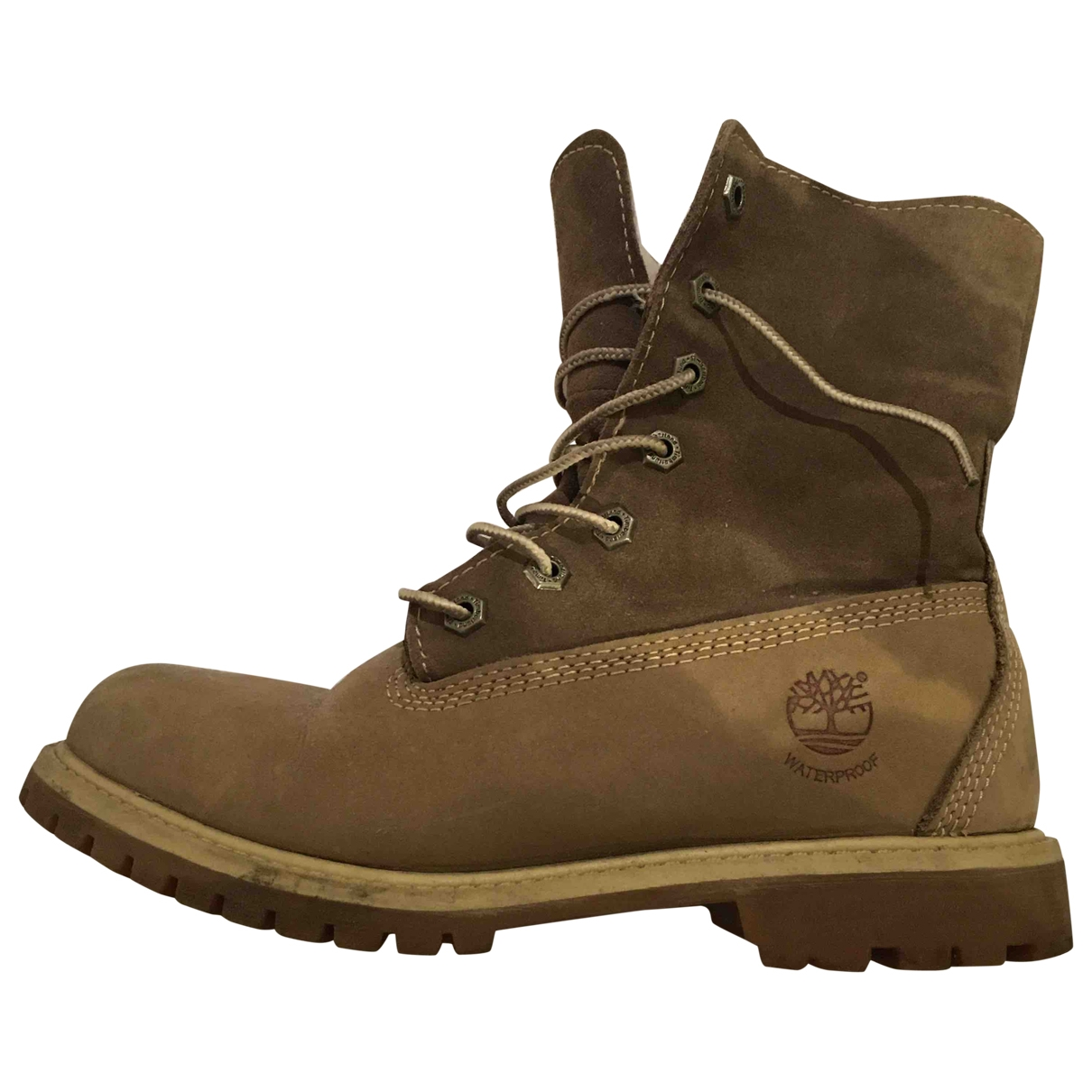 Timberland \N Grey Suede Boots for Women 37 EU