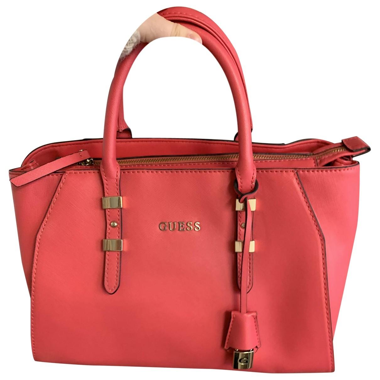 Guess \N Pink handbag for Women \N