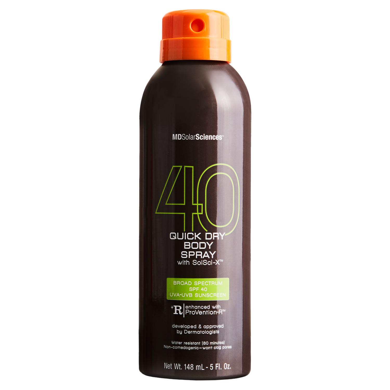 MDSolarSciences QUICK DRY BODY SPRAY SPF 40 (148 ml / 5 fl oz)