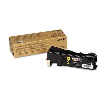 Xerox 106R01596 cartouche de toner originale jaune haute capacité de 106R01593