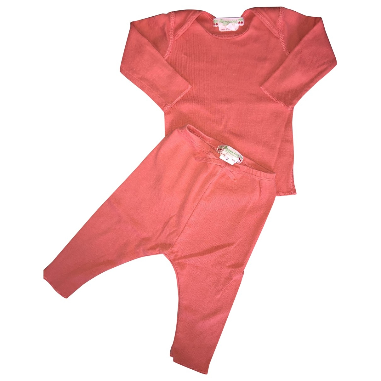 Bonpoint \N Pink Cotton Outfits for Kids 3 months - up to 60cm FR