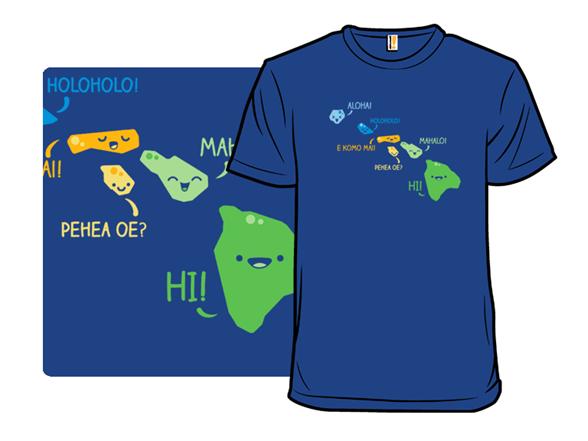 Kawaii Hawaii T Shirt