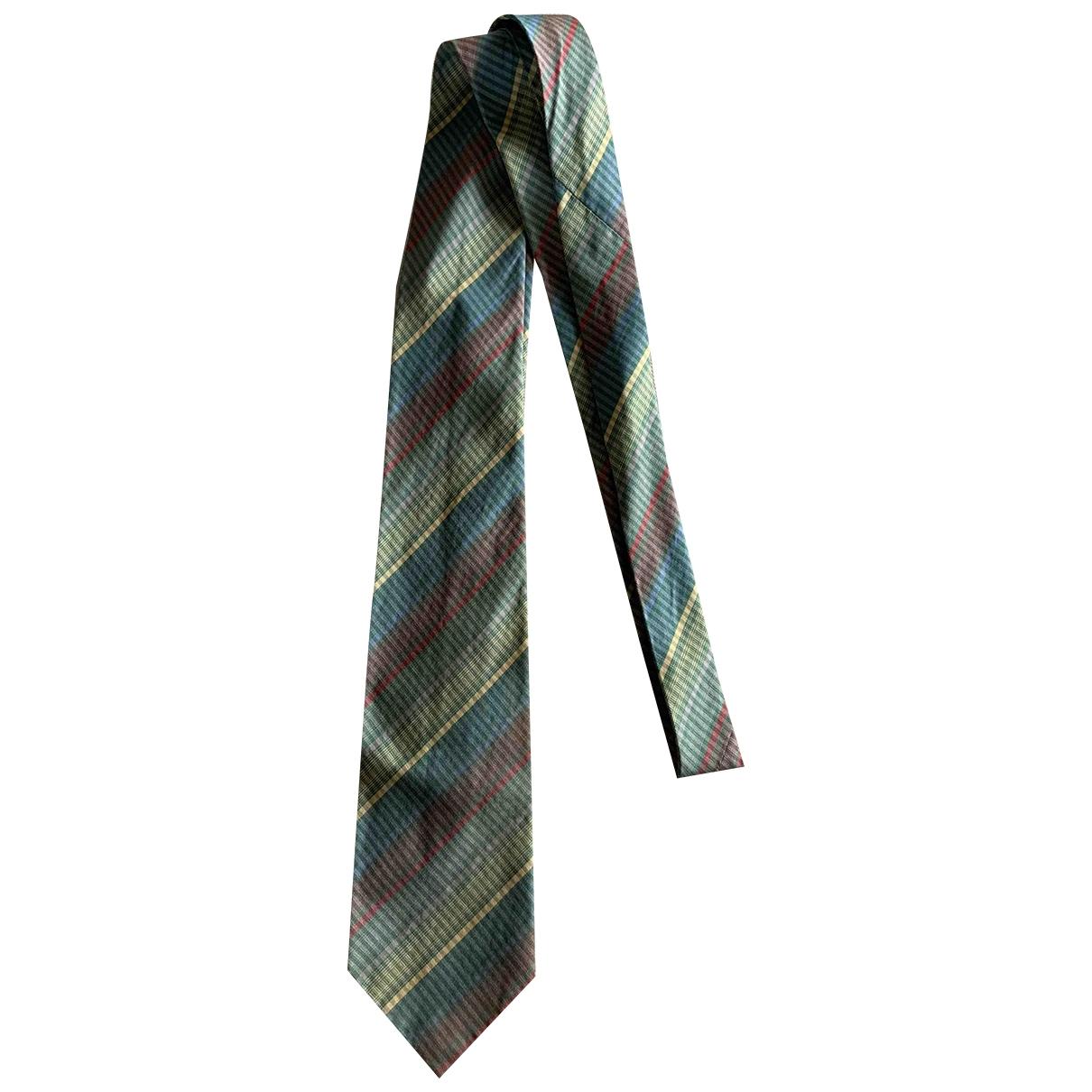 Gianni Versace \N Multicolour Cotton Ties for Men \N