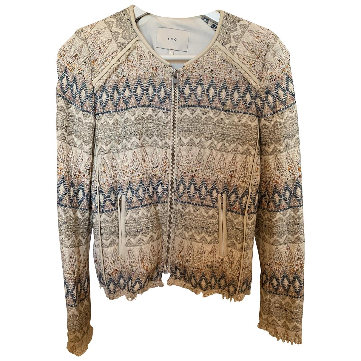 Iro \N Ecru Cotton jacket for Women 1 0-5