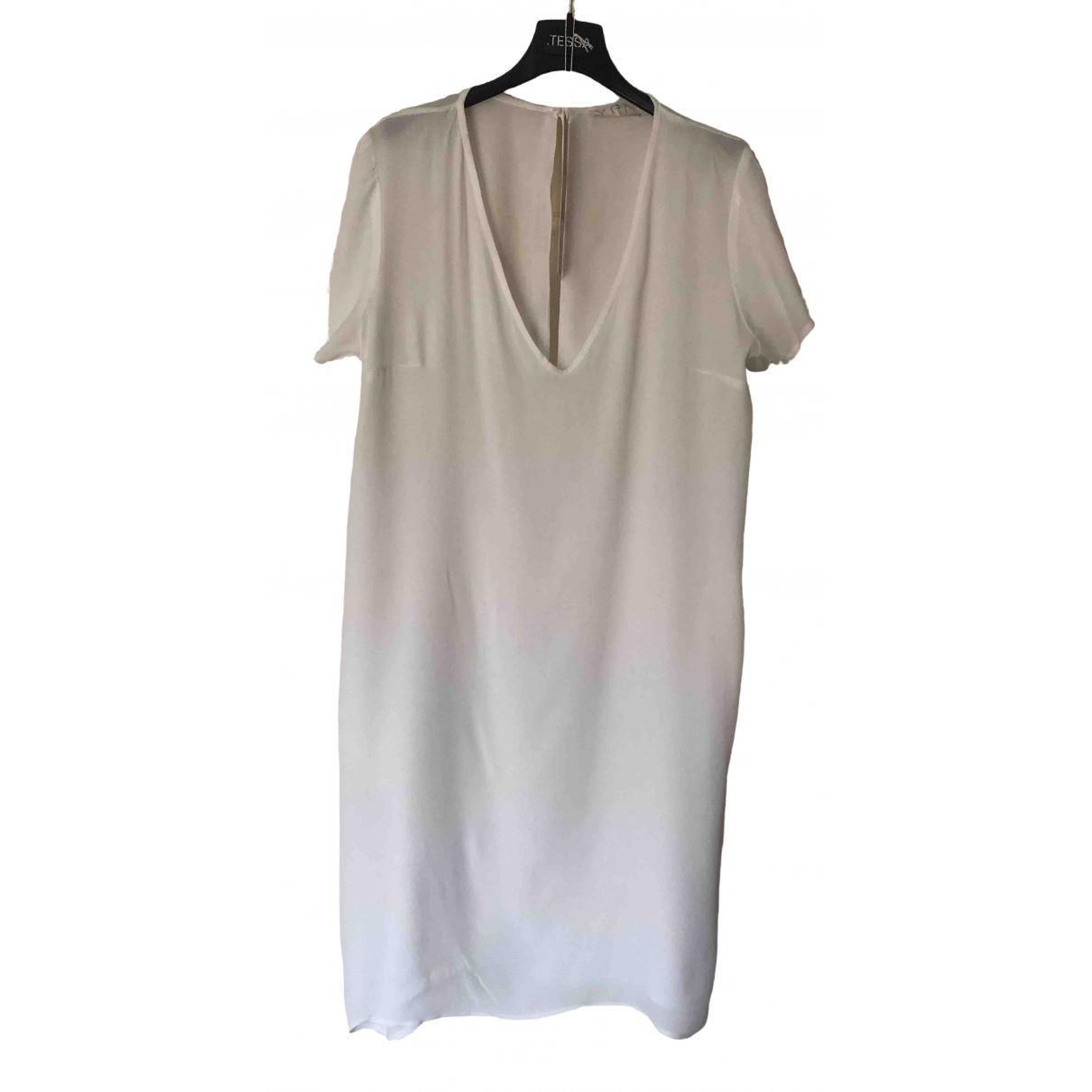 Non Signé / Unsigned \N White dress for Women 44 IT