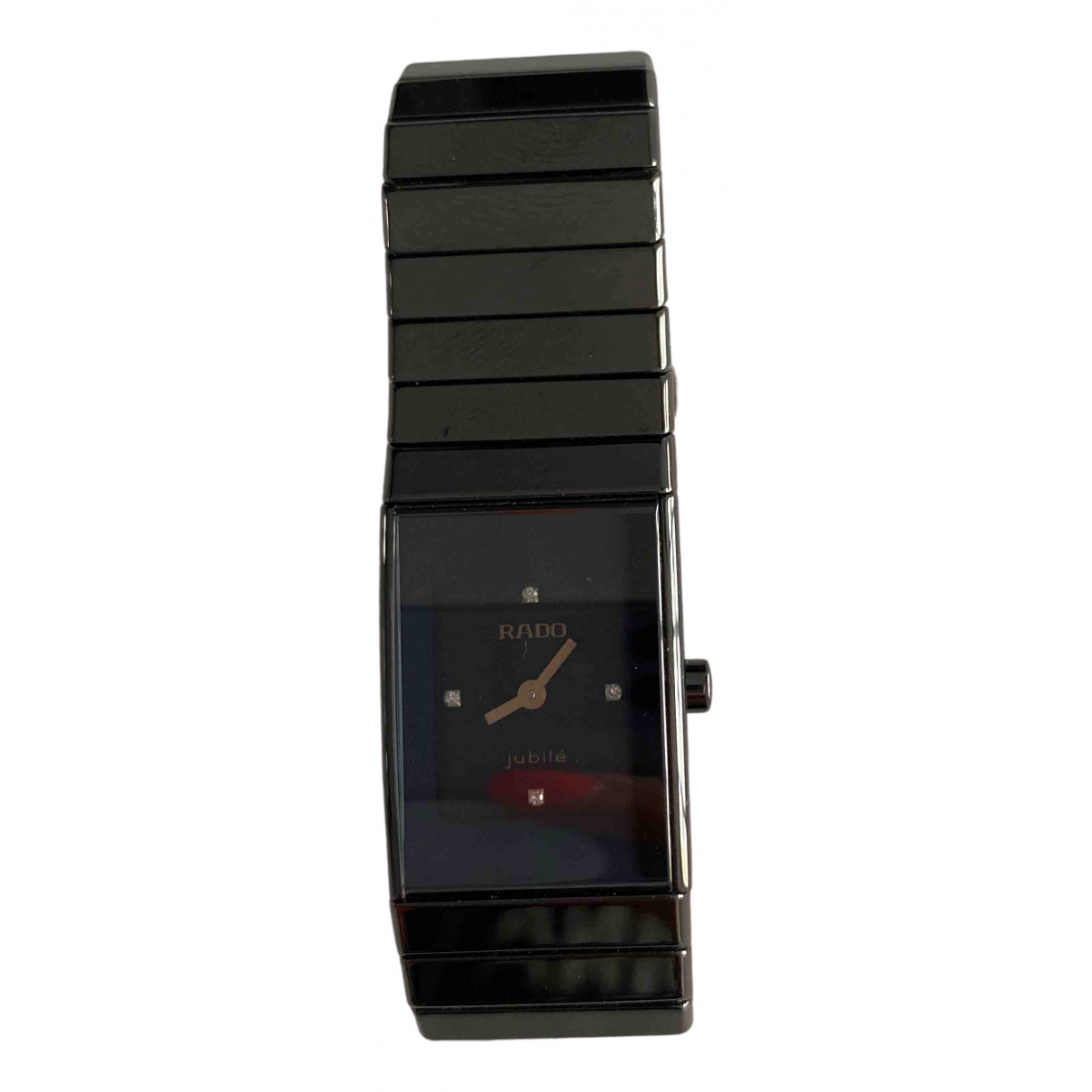 Rado \N Black Ceramic watch for Women \N
