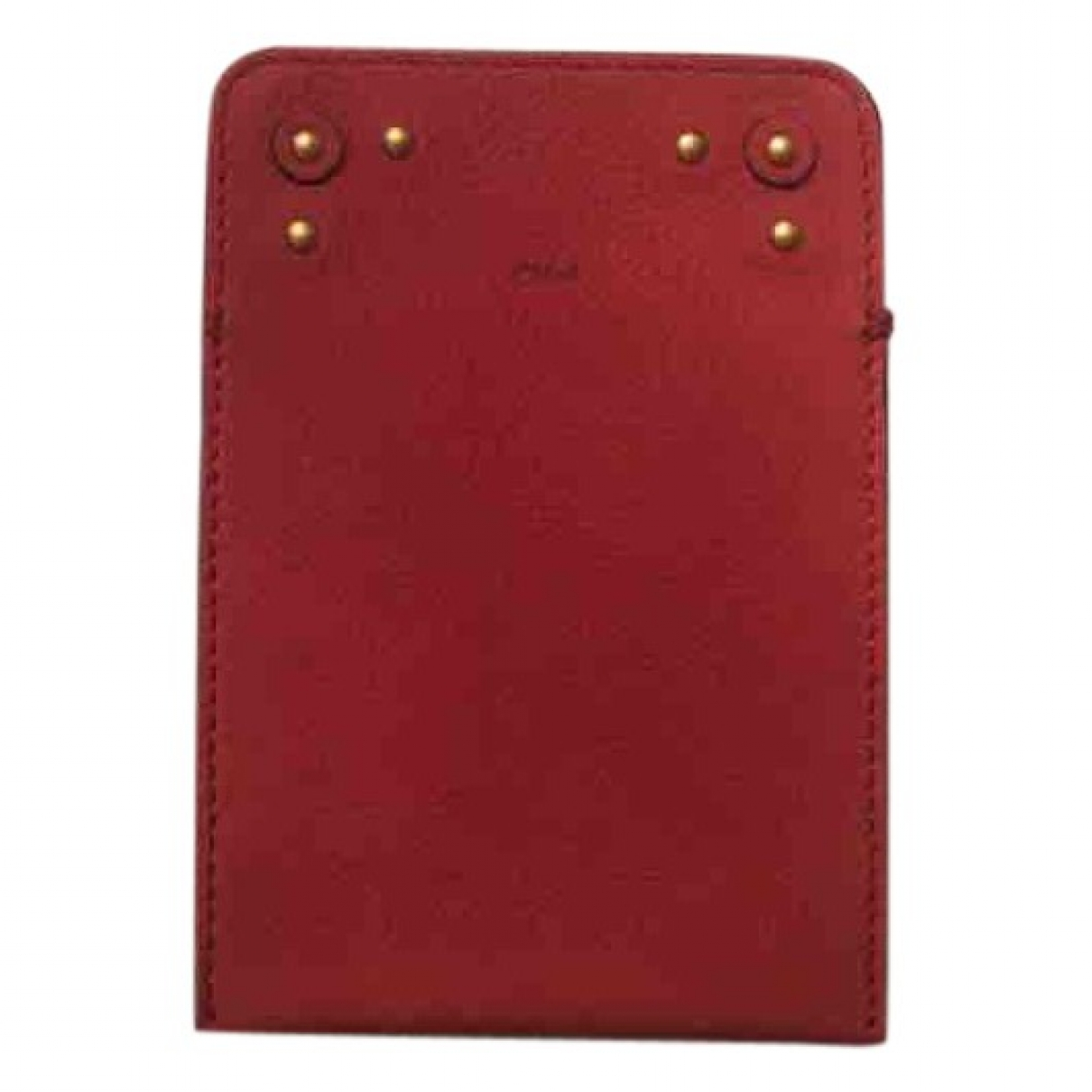 Chloé \N Red Leather Accessories for Life & Living \N
