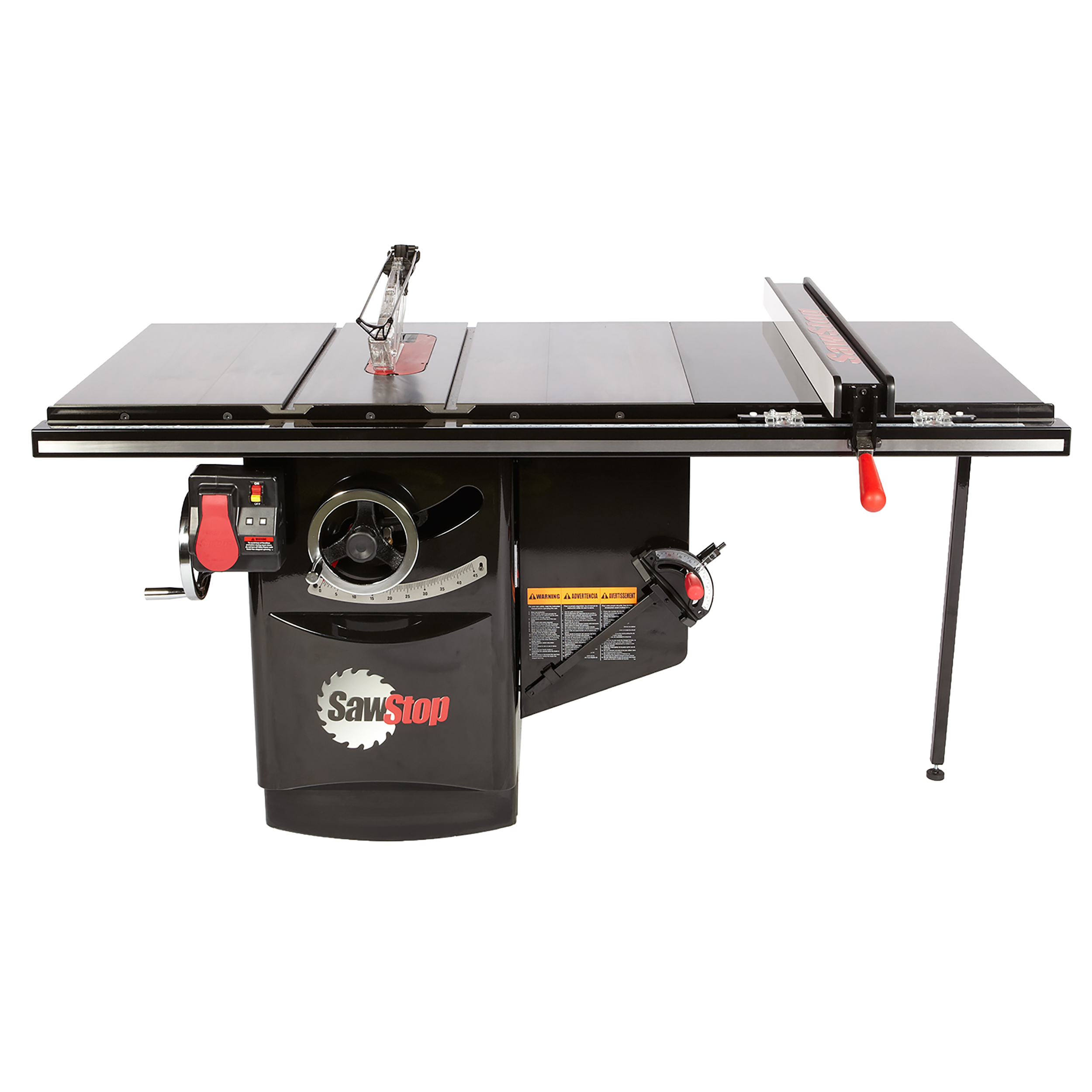 5 HP, 480V, 3PH Industrial Cabinet Saw with 36