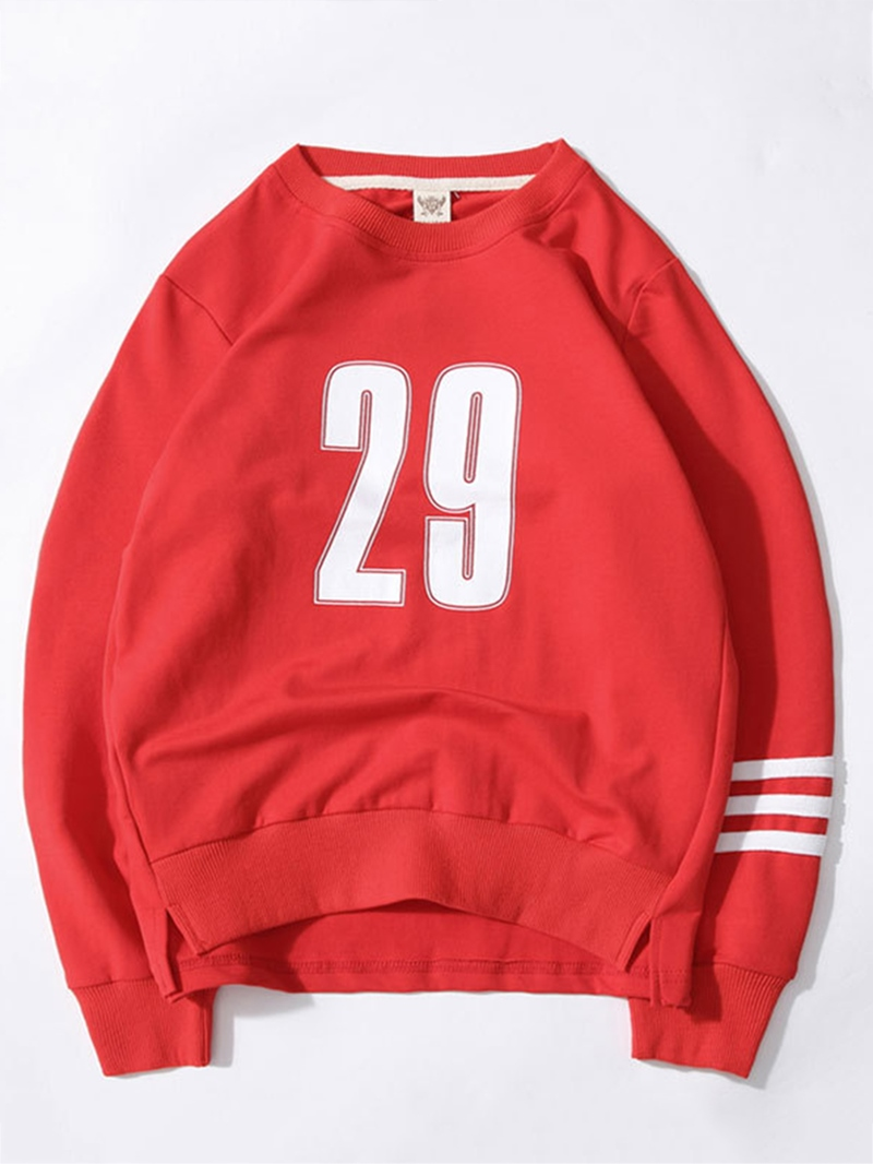 Ericdress Number Pattern Loose Long Sleeve Fall Boys T-Shirt