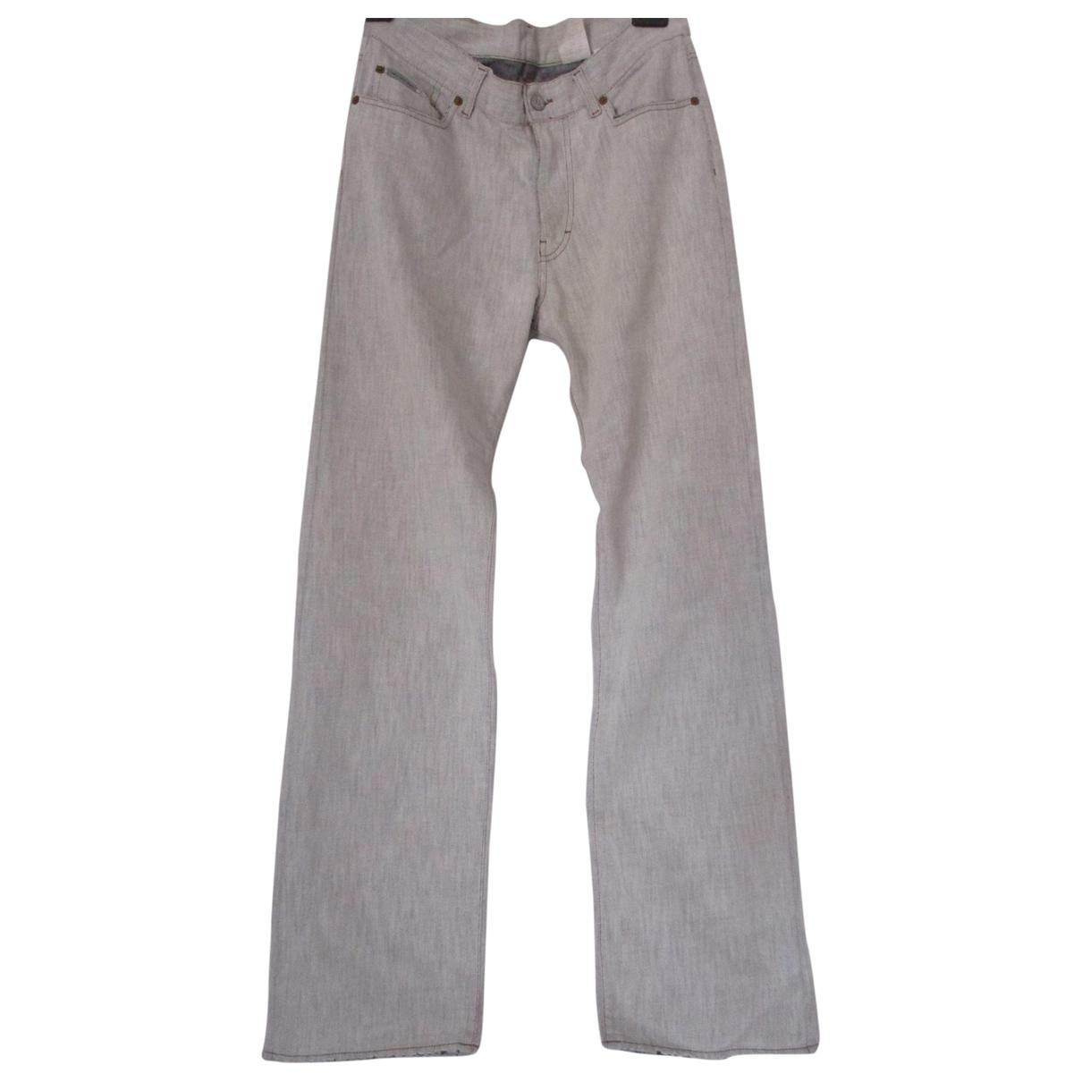 Calvin Klein \N Beige Denim - Jeans Trousers for Men 48 IT