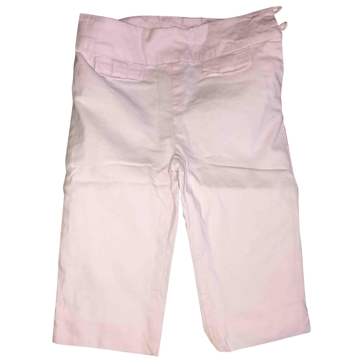 Jacadi \N Pink Cotton Trousers for Kids 18 months - up to 81cm FR