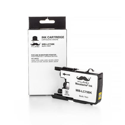 Compatible Brother MFC-J280W noire cartouche encre de Moustache, haut rendement