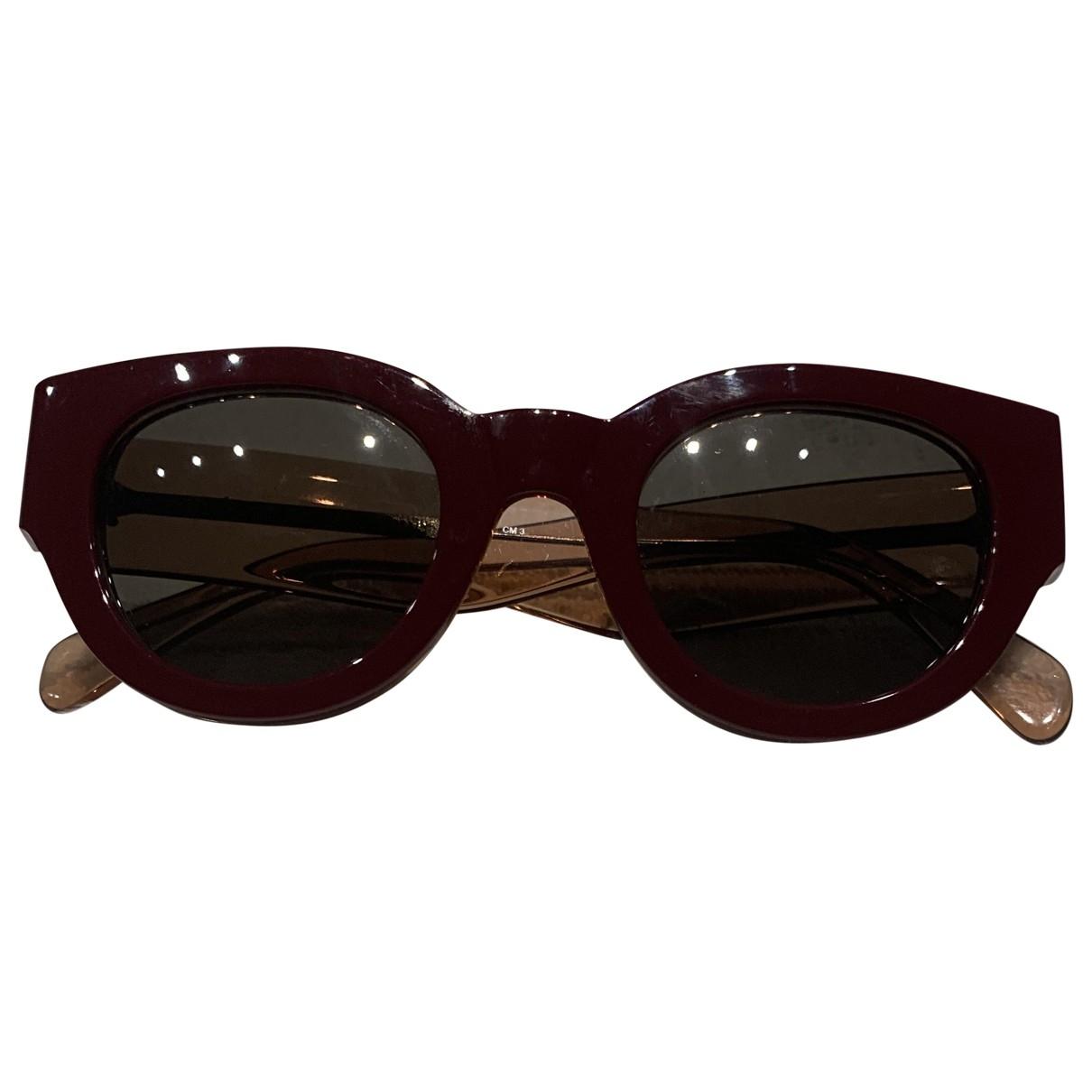 Celine \N Burgundy Sunglasses for Women M International