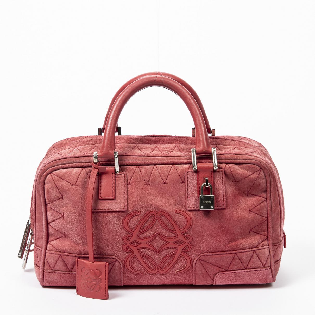 Loewe Amazona Red Leather handbag for Women \N