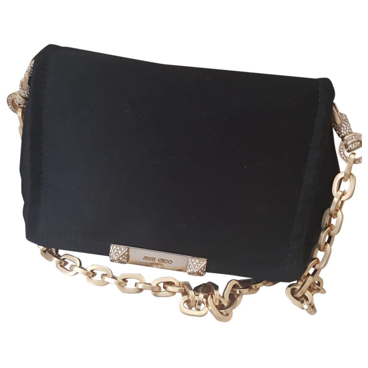 Jimmy Choo \N Black Cloth handbag for Women \N