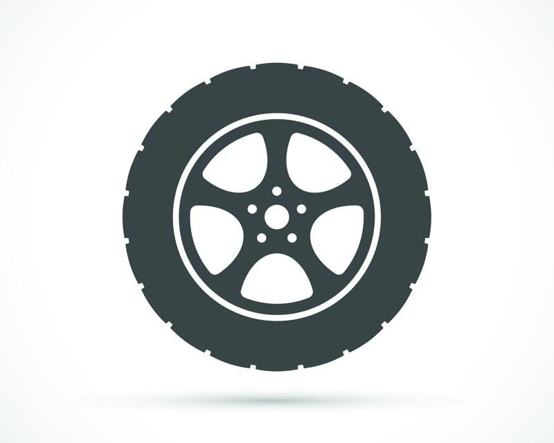 Black Rhino Twister Wheel 22x14 5x127 -76mm Gloss Black w/Milled Spokes Right