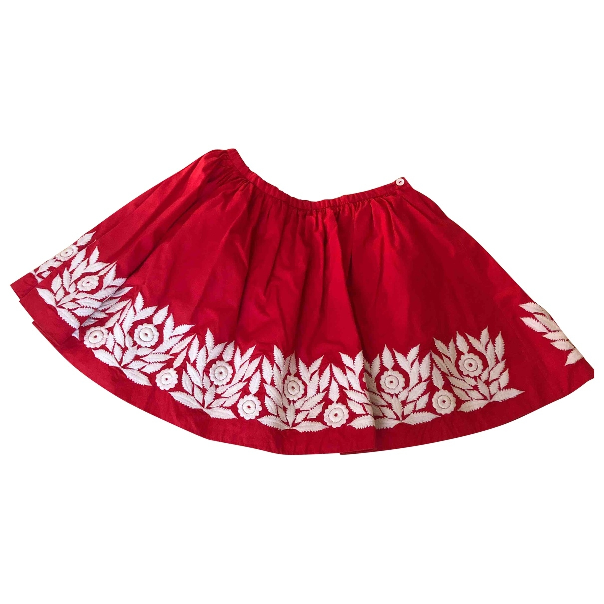 Bonpoint \N Red Cotton skirt for Kids 4 years - up to 102cm FR