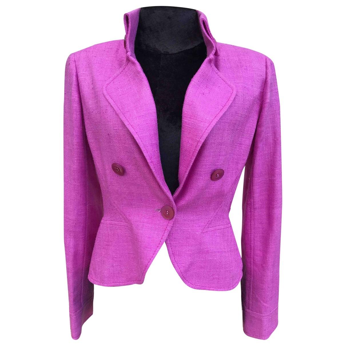 Valentino Garavani \N Pink jacket for Women 8 UK