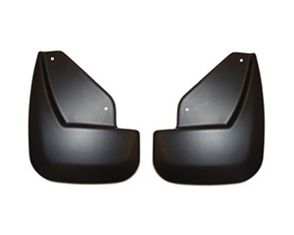 Husky Liners 58431 Front Mud Guards | Custom Mud Guards Black Ford Edge Limited Edge with Optional Cladding 11-14