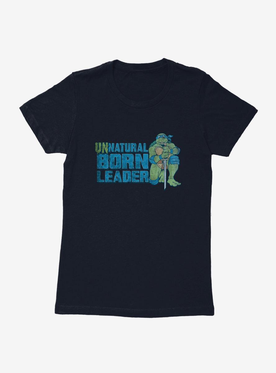 Teenage Mutant Ninja Turtles Unnatural Leader Womens T-Shirt