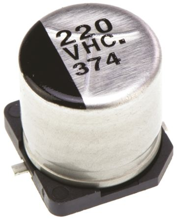 Panasonic 220μF Electrolytic Capacitor 35V dc, Surface Mount - EEEHC1V221P (5)