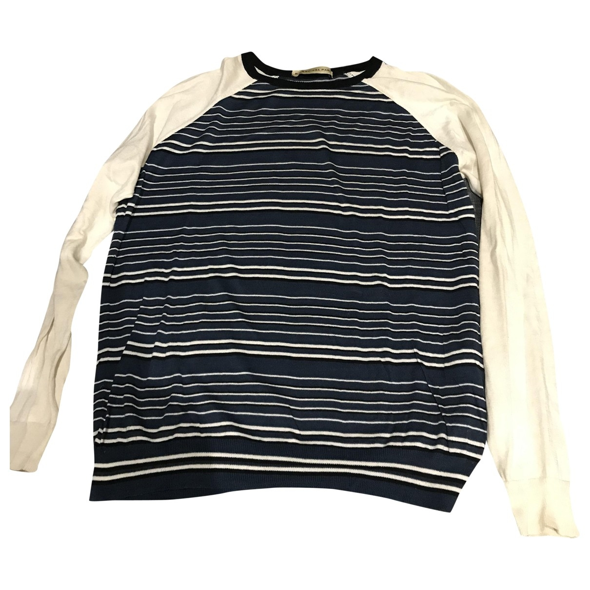 Balenciaga \N Blue Cotton Knitwear & Sweatshirts for Men S International