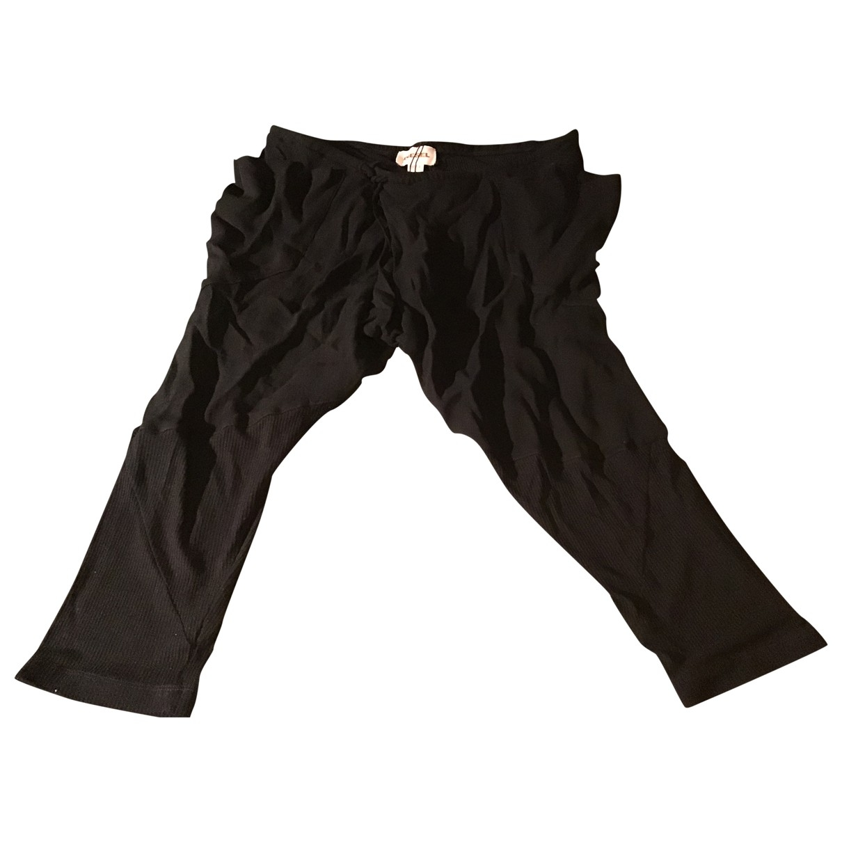 Diesel Black Gold \N Black Trousers for Women S International