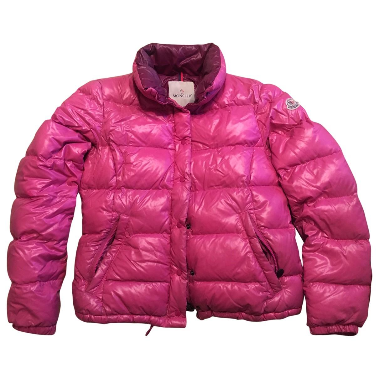 Moncler Classic Pink coat for Women L International
